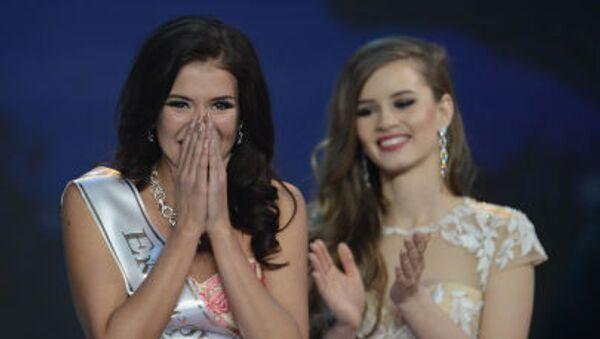 Miss Rosji 2015 Sofia Nikitczuk - Sputnik Polska
