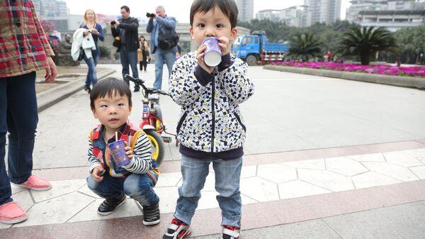 Chiny. Dzieci - Sputnik Polska