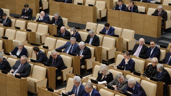 Posiedzenie Dumy Państwowej FR - Sputnik Polska