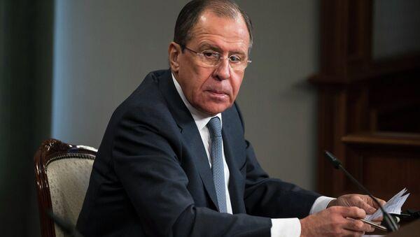 Russian Foreign Minister Sergey Lavrov - Sputnik Polska