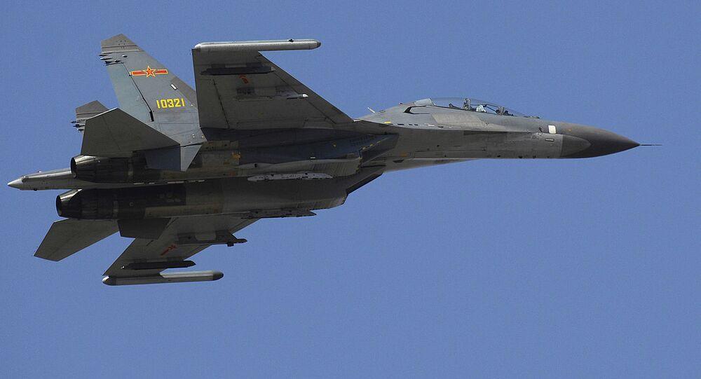 Chiński myśliwiec Shenyang J-11