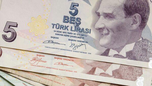 lira turecka - Sputnik Polska