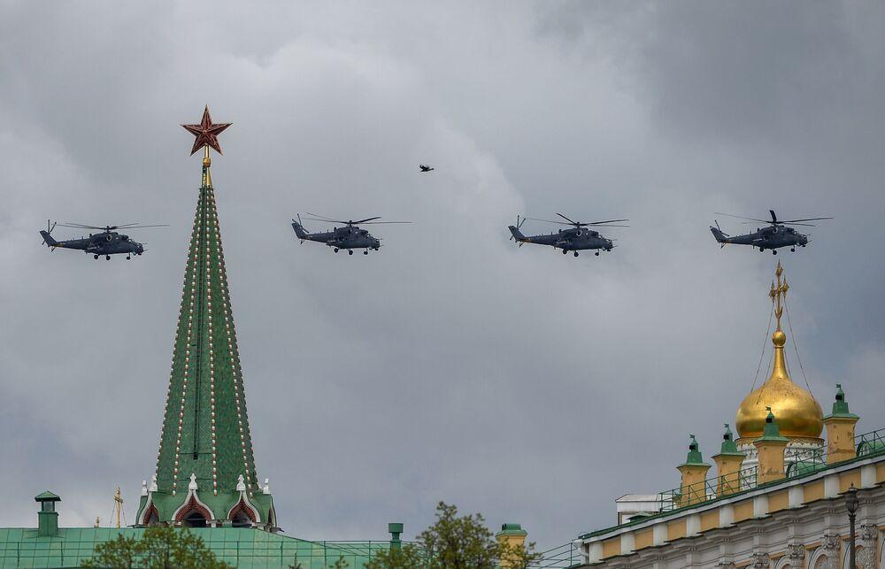 Śmigłowice szturmowe Mi-35