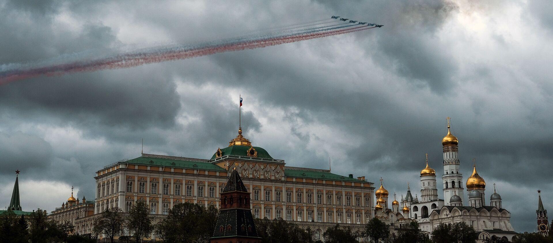 Rosyjskie samoloty szturmowe Su-25 SM - Sputnik Polska, 1920, 11.06.2021