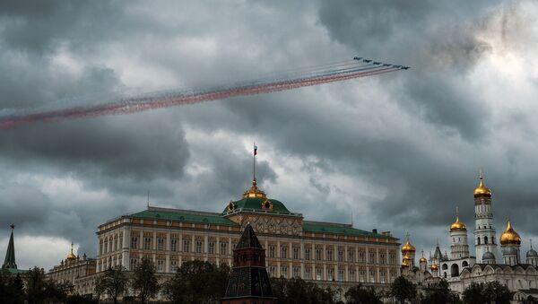 Rosyjskie samoloty szturmowe Su-25 SM - Sputnik Polska