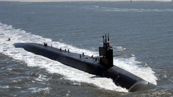 Atomowa łódź podwodna - Sputnik Polska