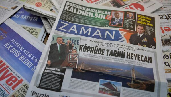 Turecka gazeta Zaman - Sputnik Polska