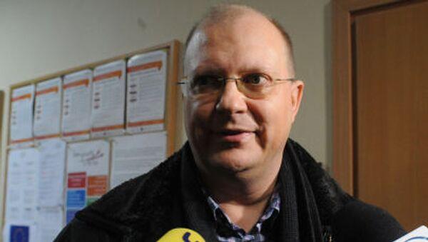 Rosyjski dziennikarz Leonid Swiridow - Sputnik Polska