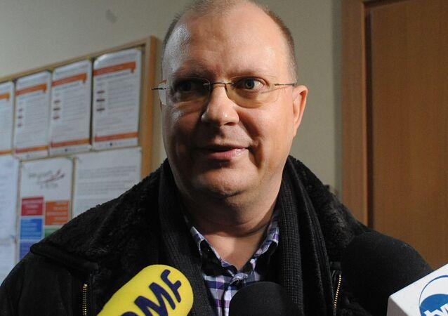 Rosyjski dziennikarz Leonid Swiridow