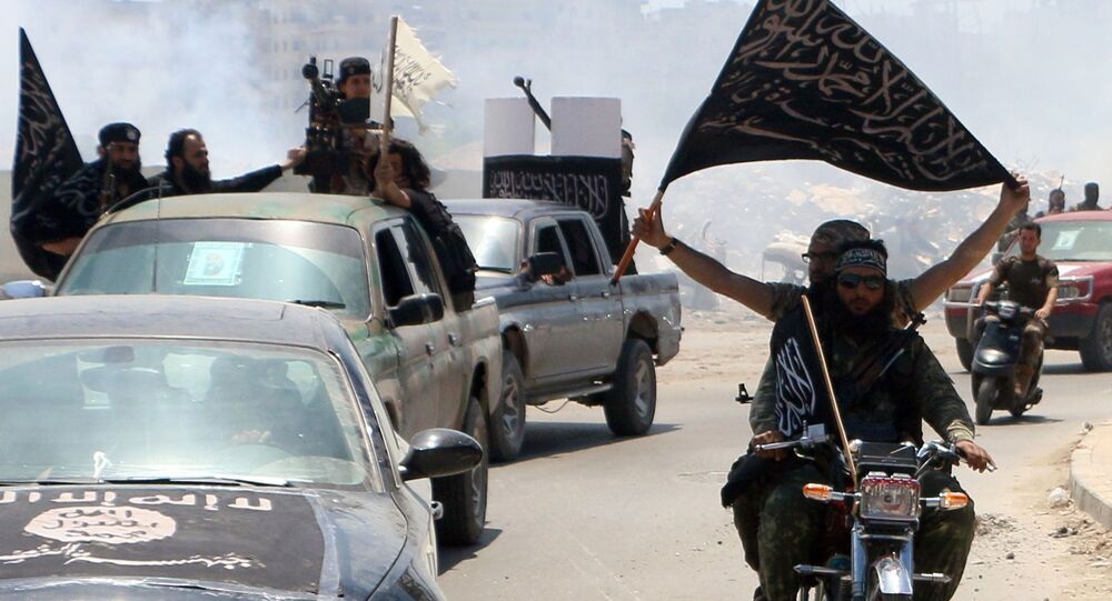 Bojownicy z Frontu al-Nusra
