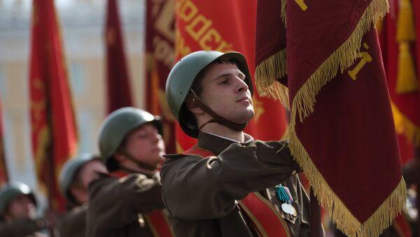Próba parady wojskowej z okazji 9 maja - Sputnik Polska
