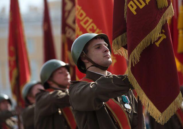 Próba parady wojskowej z okazji 9 maja