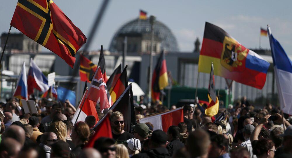 Demonstracja w Berlinie