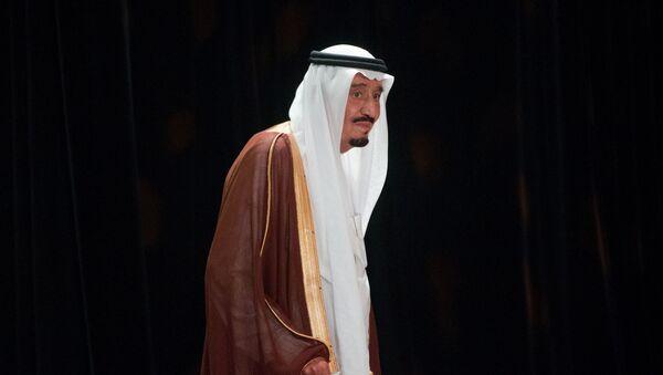 Król Arabii Saudyjskiej Salman - Sputnik Polska