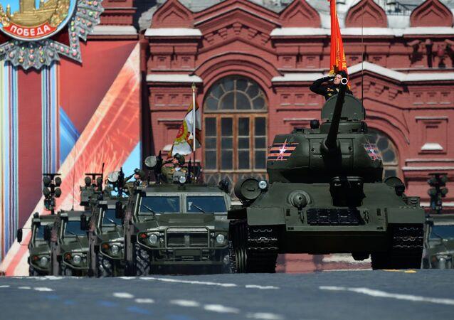 Defilada Zwycięstwa 2016. Moskwa, Rosja.