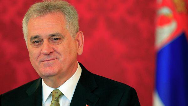Serbski prezydent Tomislav Nikolic - Sputnik Polska