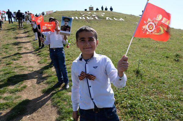 Akcja Nieśmiertelny Pułk w Dagestanie, Rosja - Sputnik Polska