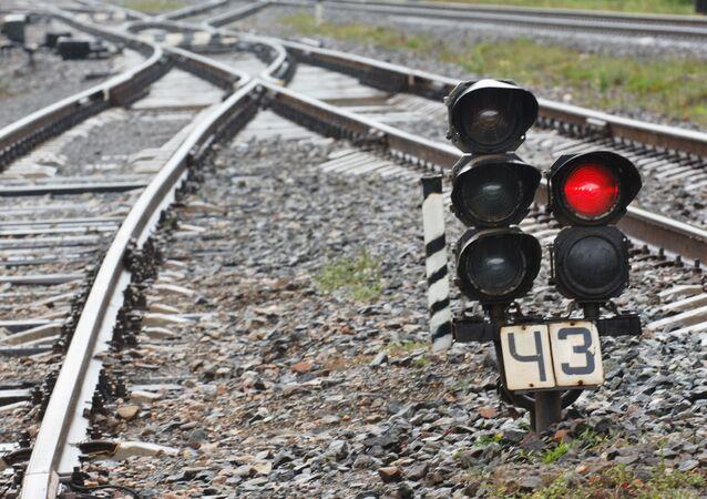 Kolejowa sygnalizacja świetlna