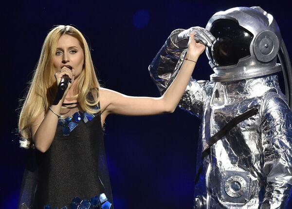 Lidia Isac z Mołdawii na Eurowizji 2016 - Sputnik Polska