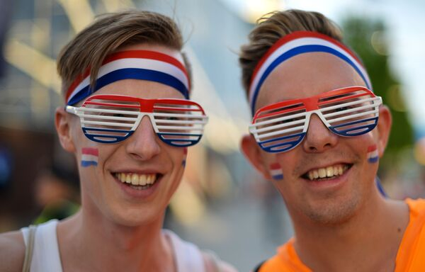 Grupa poparcia dla Douwe Bob z Holandii - Sputnik Polska
