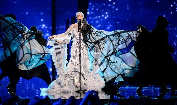Nina Kraljić z Chorwacji przedstawia piosenkę Lighthouse - Sputnik Polska
