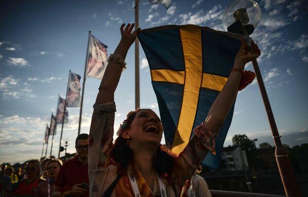 Konkurs Eurowizja 2016 odbywa się w Sztokholmie - Sputnik Polska