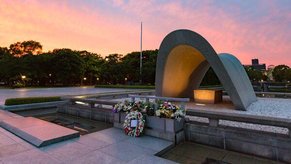 Pomnik pokoju w Hiroszimie w Japonii - Sputnik Polska