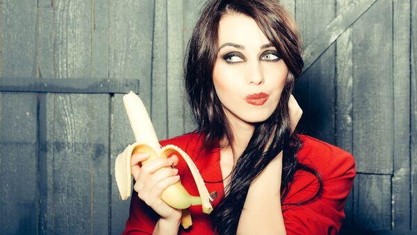 Dziewczyna z bananem - Sputnik Polska