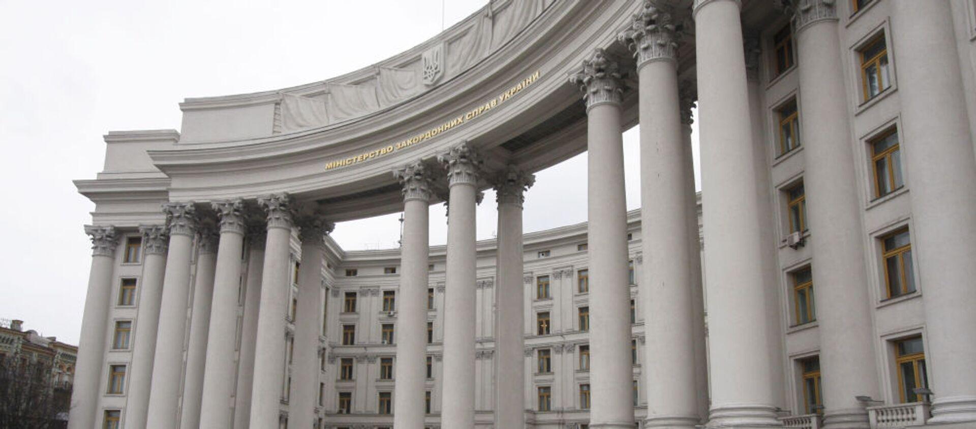 Budynek Ministerstwa Spraw Zagranicznych Ukrainy w Kijowie - Sputnik Polska, 1920, 05.03.2021