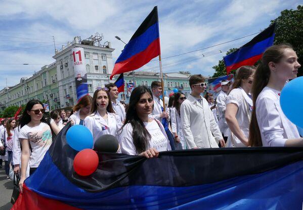 Dzień Republiki ogłoszono w DNR oficjalnie dniem wolnym od pracy. - Sputnik Polska