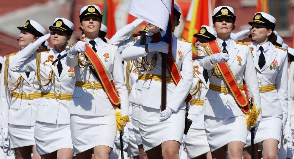 Parada z okazji Dnia Zwycięstwa w Moskwie