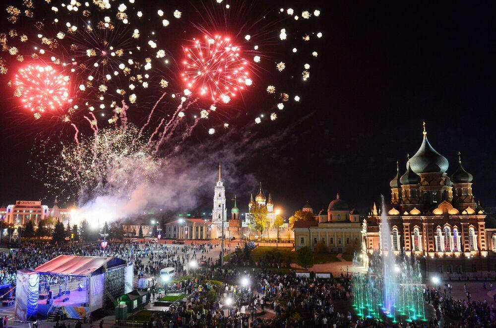 Obchody Dnia Zwycięstwa w Rosji w Tule
