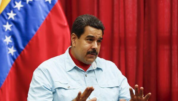 Prezydent Wenezueli Nicolas Maduro - Sputnik Polska