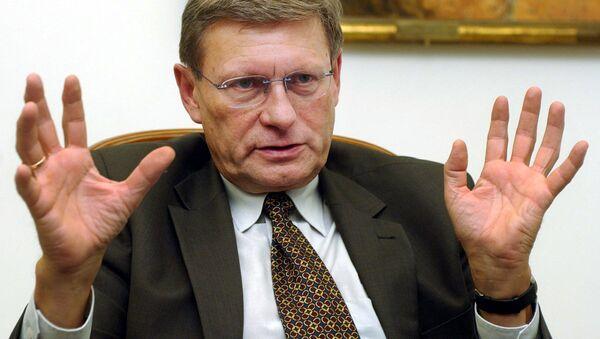 Polski ekonomista i polityk Leszek Balcerowicz - Sputnik Polska