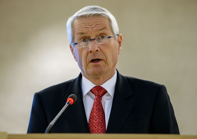 Sekretarz generalny Rady Europy Thorbjorn Jagland