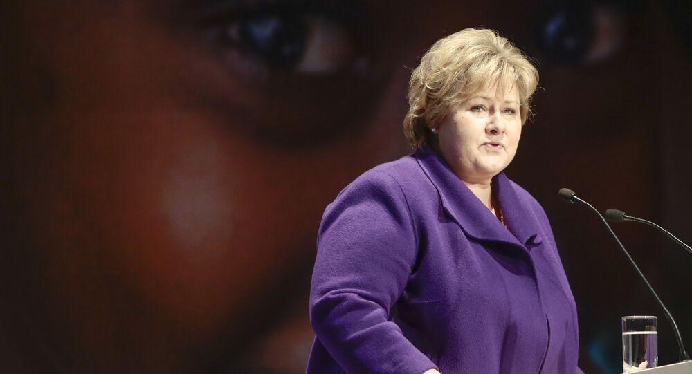 Premier Norwegii Erna Solberg