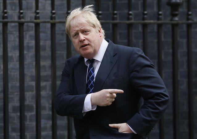 Były burmistrz Londynu Boris Johnson
