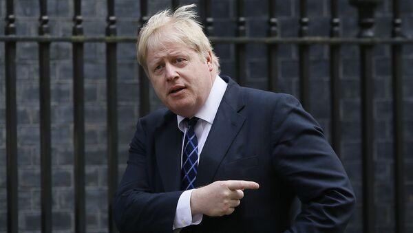 Były burmistrz Londynu Boris Johnson - Sputnik Polska