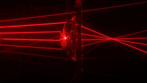 Promienie laserowe - Sputnik Polska