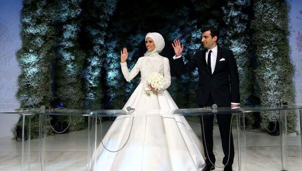 Najmłodsza córka Erdogana wyszła za producenta tureckich dronów - Sputnik Polska