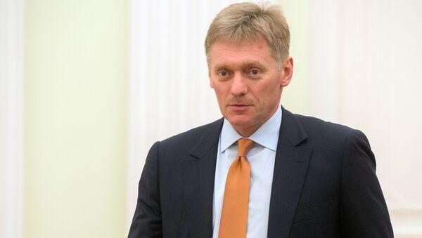 Rzecznik prasowy rosyjskiego prezydenta Dmitrij Pieskow na Kremlu - Sputnik Polska