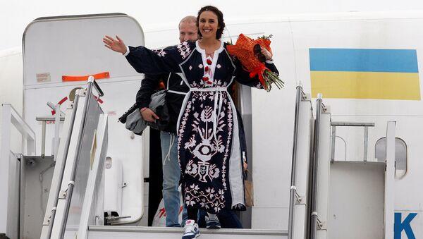 Ukraińska piosenkarka Jamala w Kijowie - Sputnik Polska