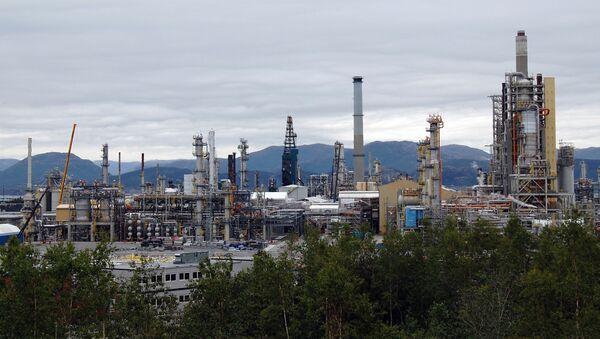Rafineria ropy naftowej w Norwegii - Sputnik Polska