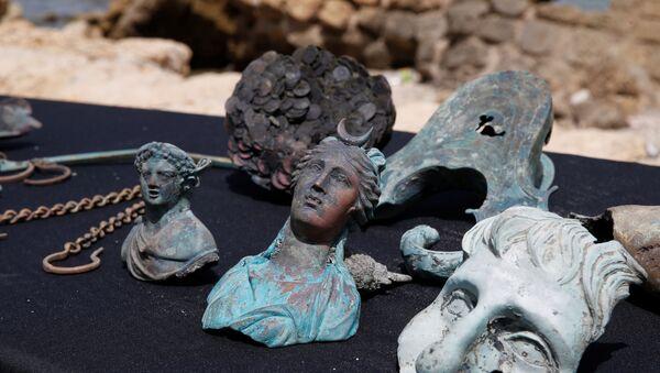 Znalezione w Izraelu starożytne posągi - Sputnik Polska