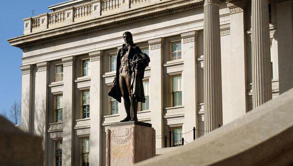 Departament Skarbu Stanów Zjednoczonych w Waszyngtonie - Sputnik Polska
