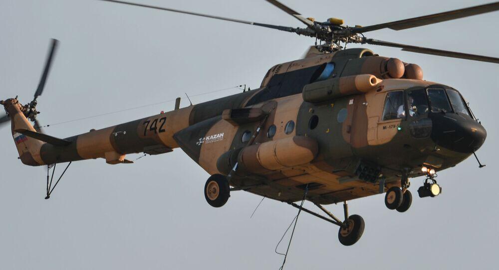 Śmigłowiec Mi-17B-5