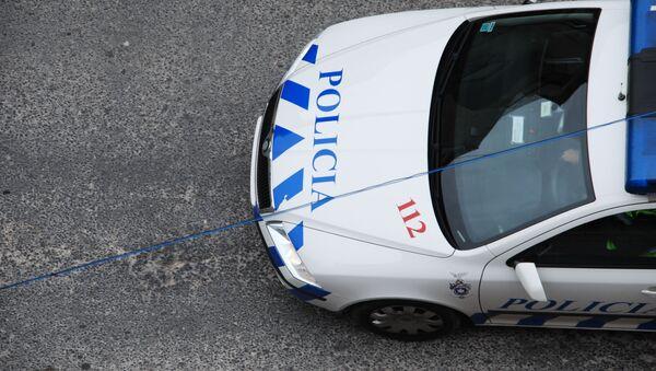 Samochód portugalskiej policji - Sputnik Polska