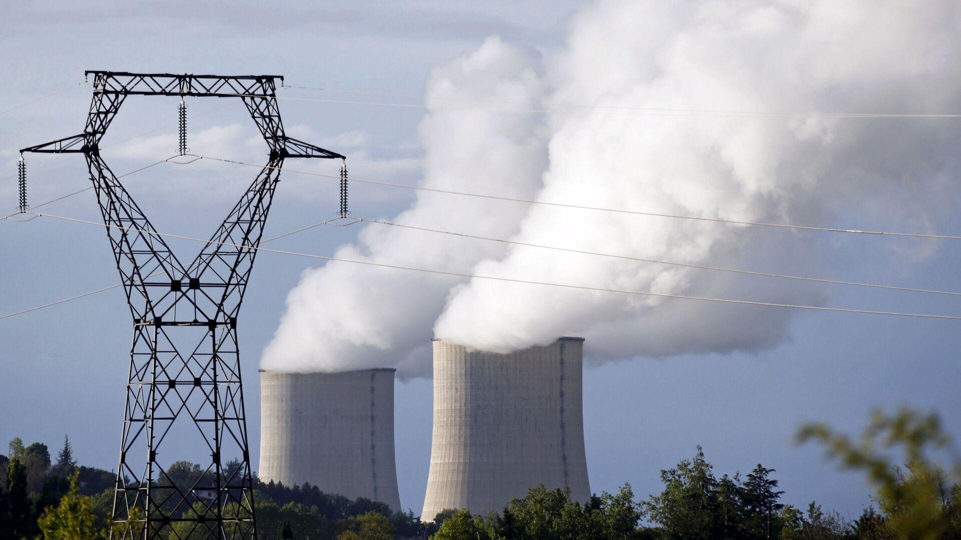 Elektrownia atomowa we Francji - Sputnik Polska, 1920, 13.07.2021