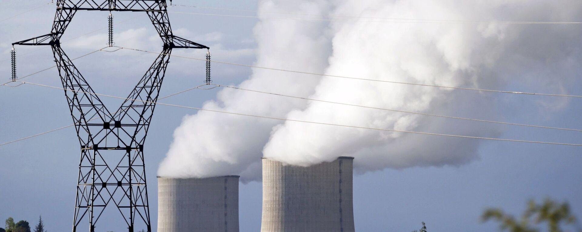 Elektrownia atomowa we Francji - Sputnik Polska, 1920, 05.07.2021
