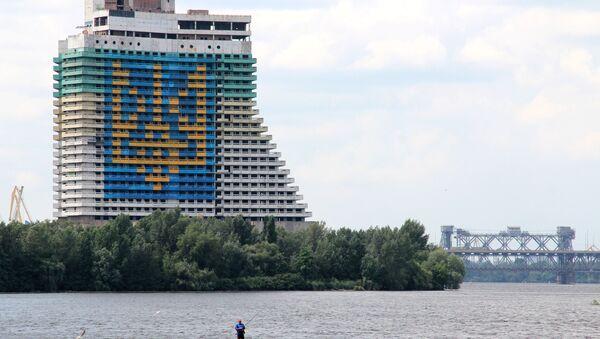Niedobudowany hotel Parus w Dniepropetrowsku - Sputnik Polska